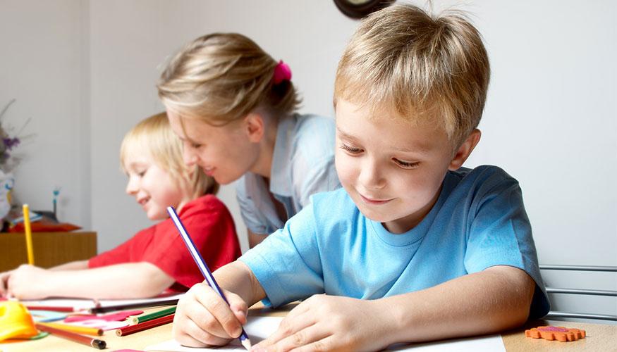 La falta de concentración puede darse en los niños.