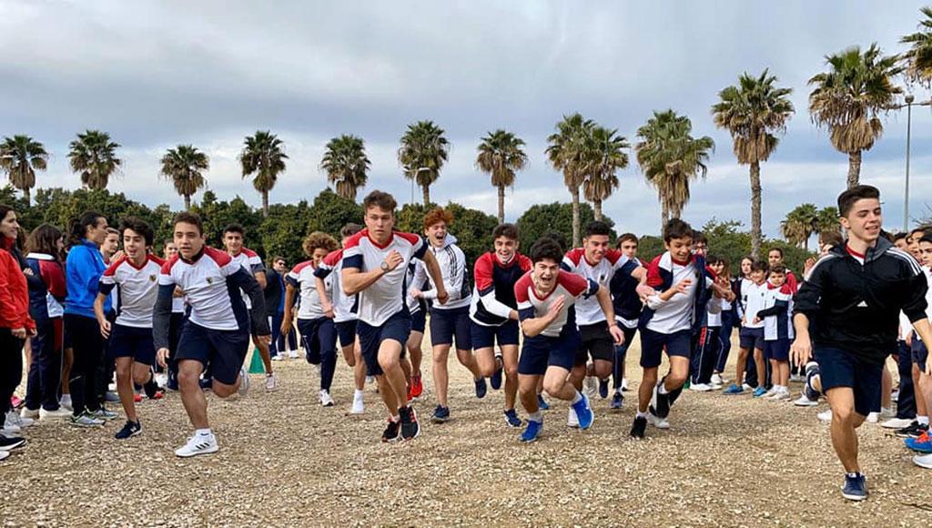 Actividad física en el Colegio El Valle de Alicante