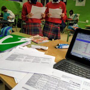 La evaluación de 3º y 4º de Primaria en el Colegio El Valle de Alicante